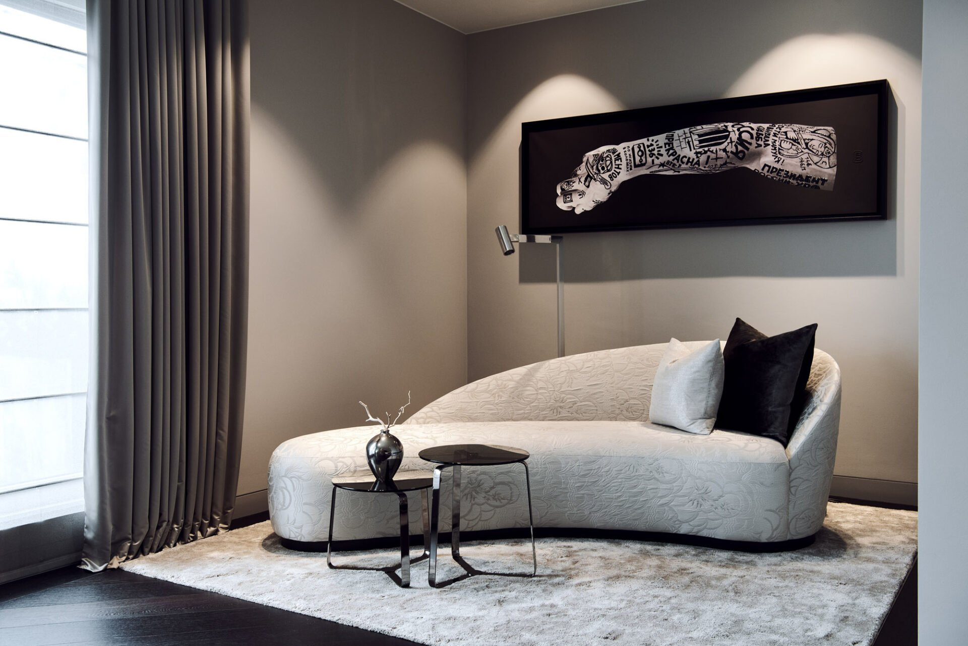 interior design luxury couch