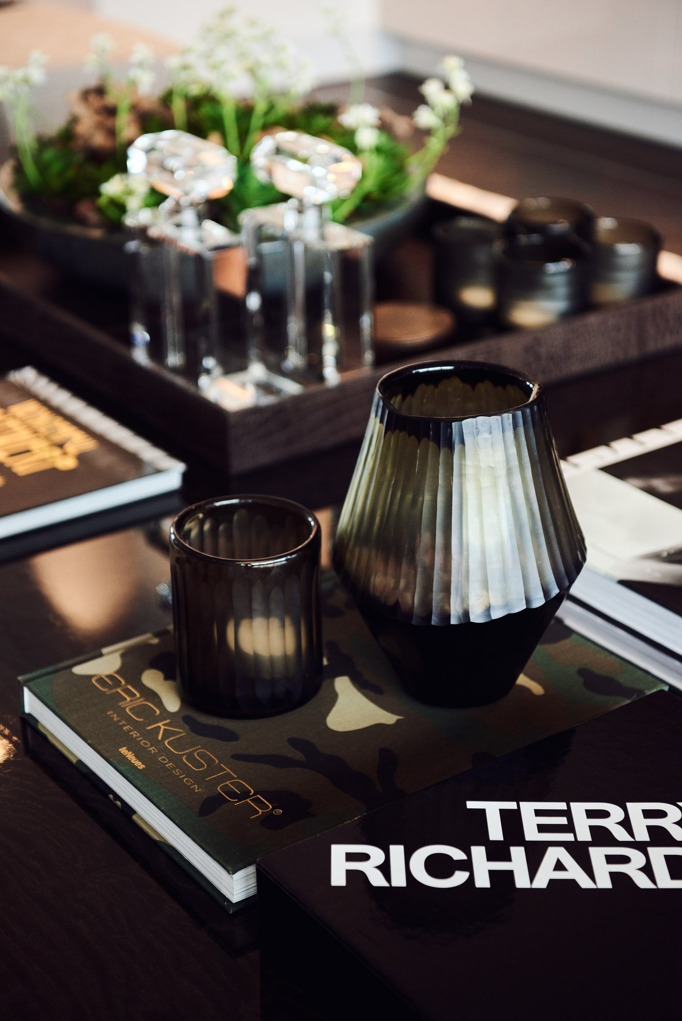 interior design eric kuster book with candles