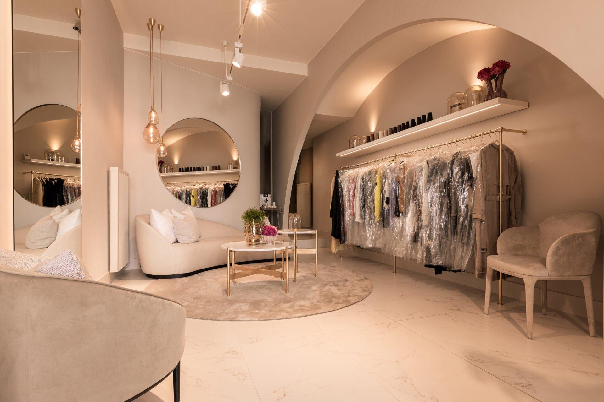 interior design sewing boutique