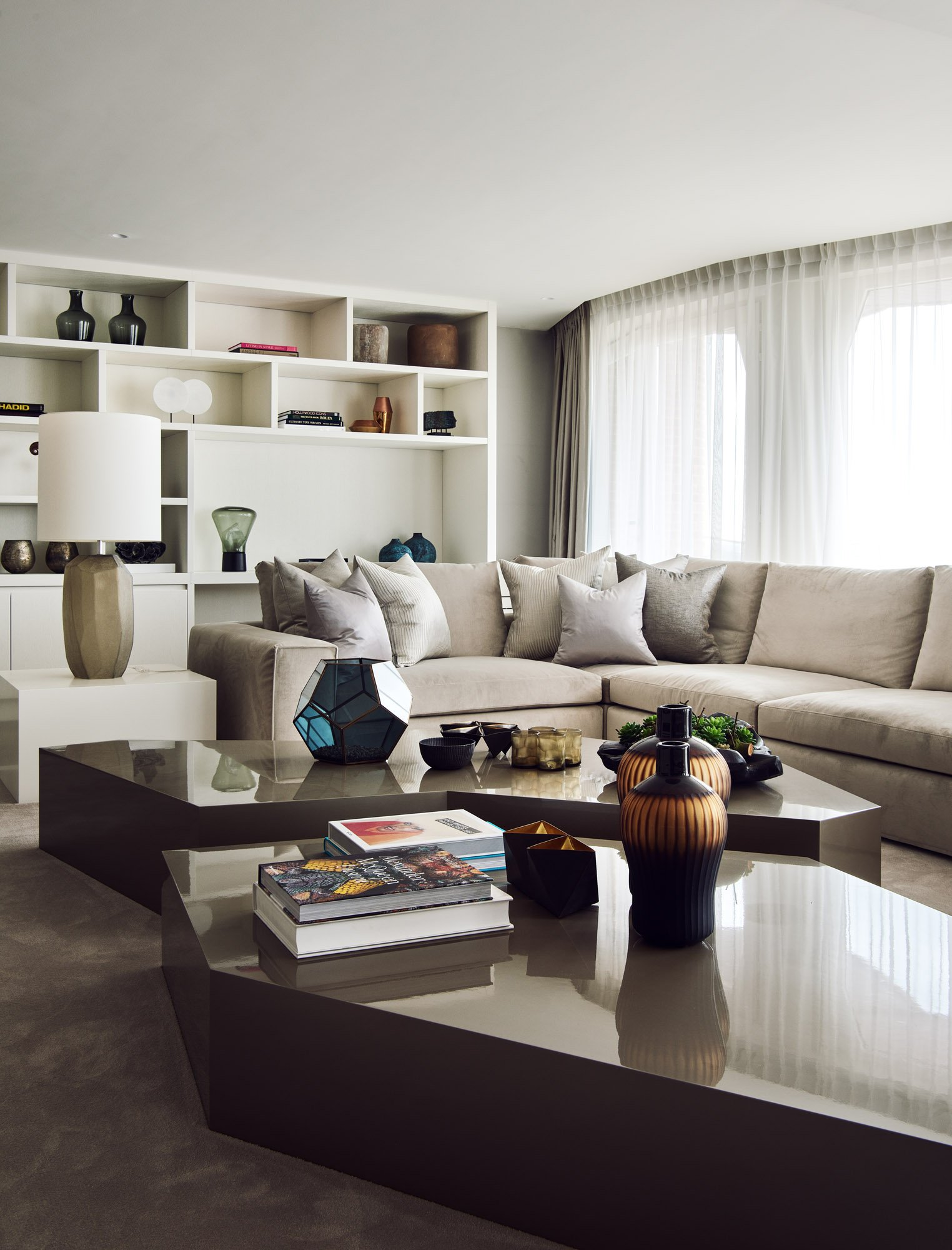 interior design apartment living room beige